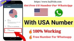 Get Free US Number For WhatsApp : Free Number For Whatsapp Verification