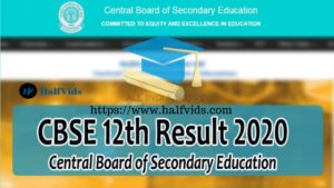 CBSE 12th Result – Check CBSE Result Class 12