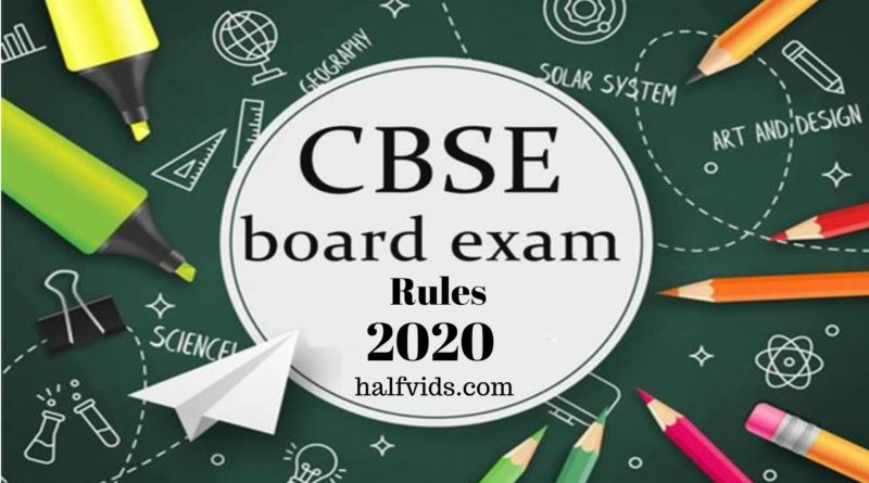 CBSE Board New Rules : CBSE New Rules for Class 10 and 12 Board Exams 2020