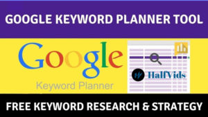 Google Free Keyword Research Tool